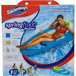 Spring Float Recliner - Light Blue/Dark Blue