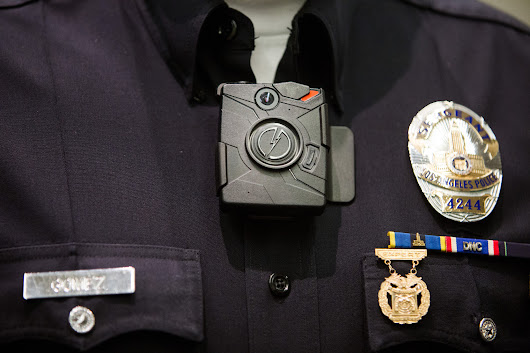 LAPD's plan for 7,000 body cameras comes with challenges