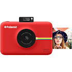 "Polaroid Snap Touch Red Instant Print Digital Camera with 3.5"" Touchscreen Display"