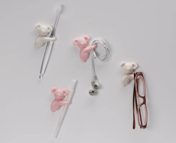 Cute Koala Hugs Your Cables and Stuff in technology home furnishings  Category