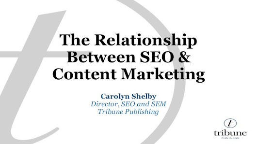 The Relationship Between Content Marketing & SEO