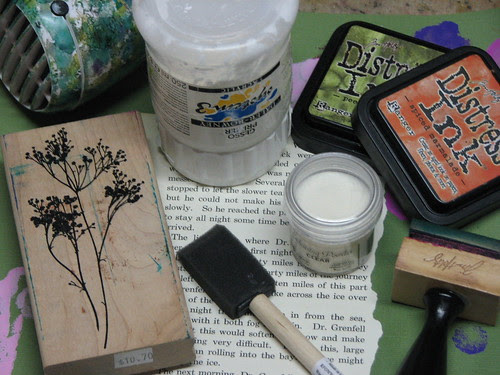 Gesso Stamping002