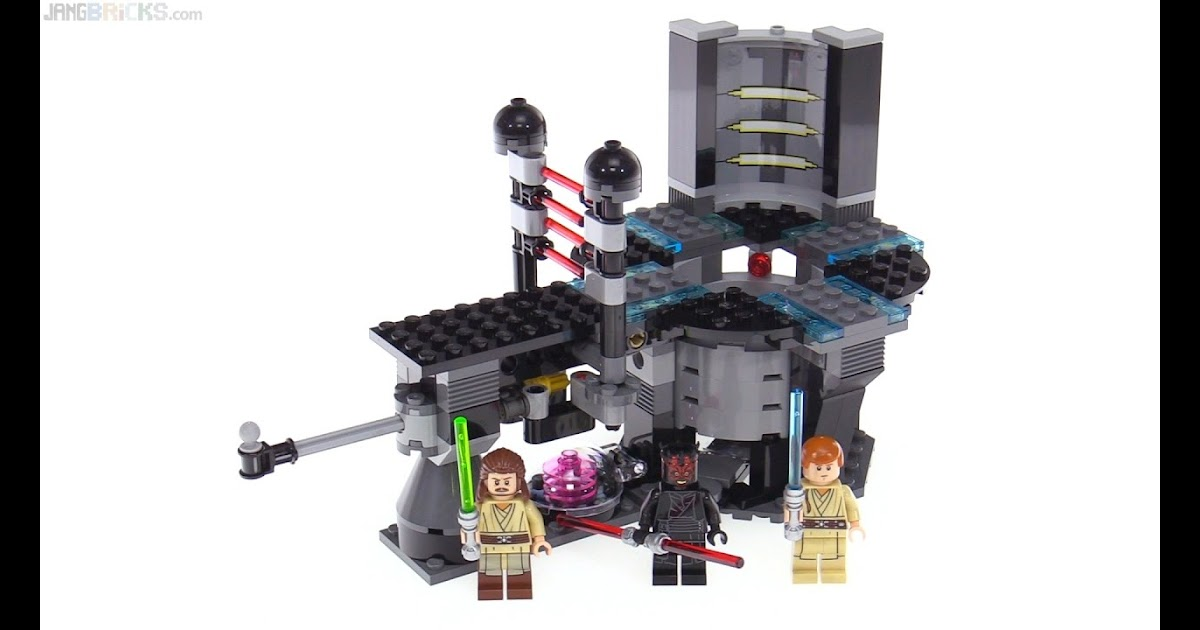 A Include24 Sutherlands Lego Star Wars Duel On Naboo Review 75169