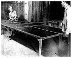 Tennis Table Vintage Woodworking Plan - fee plans from WoodworkersWorkshop® Online Store - games,tennis tables,full sized patterns,vintage woodworking plans,old projects,recycled,woodworkers projects,blueprints,drawings,blueprints,how-to-build