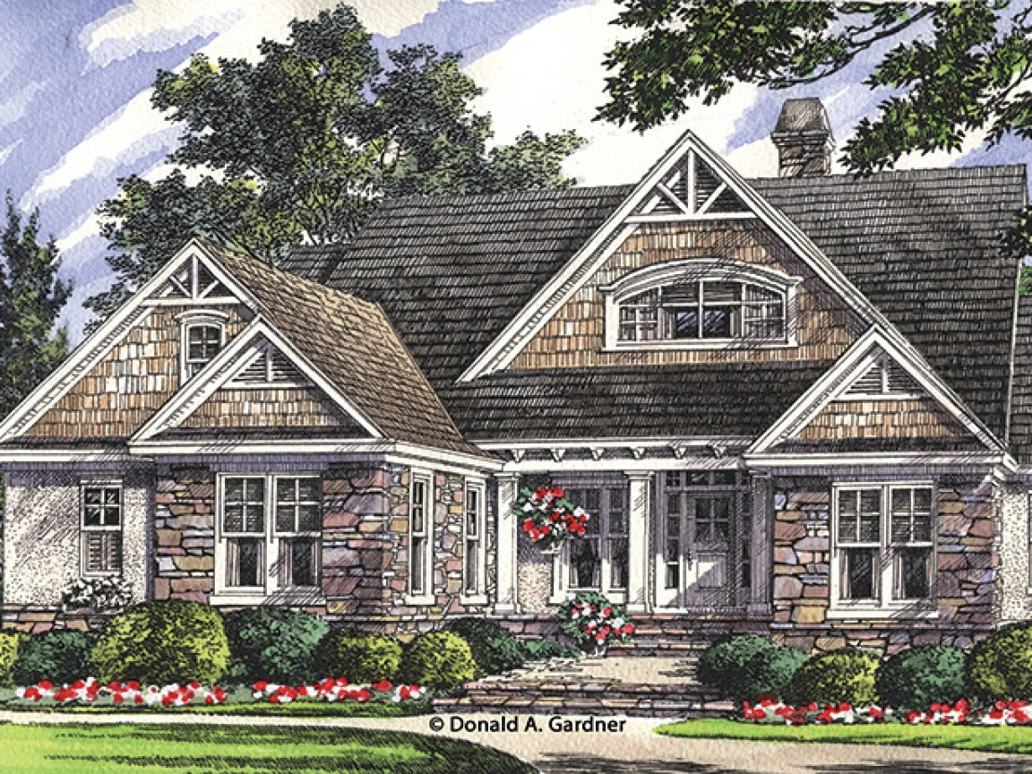 Home Plans with Detached Garage Home Plans with Walk Out