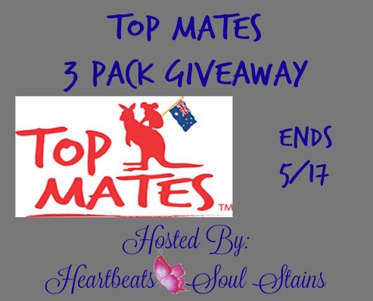 Top Mates 3 Pack #Giveaway