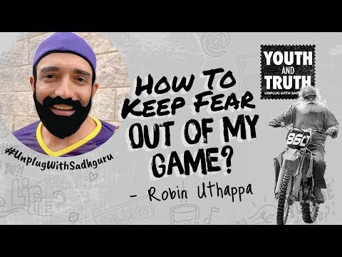 WATCH #Spiritual | How To Keep FEAR Out of My Game? Robin Uthappa Asks Sadhguru #India #Cricket #Q&A