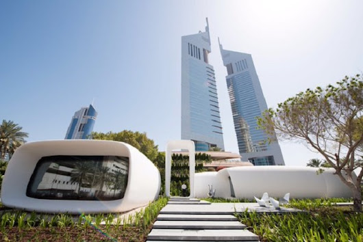 The Inauguration of the First 3D Printed Building in Dubai | 3D Printing from scratch