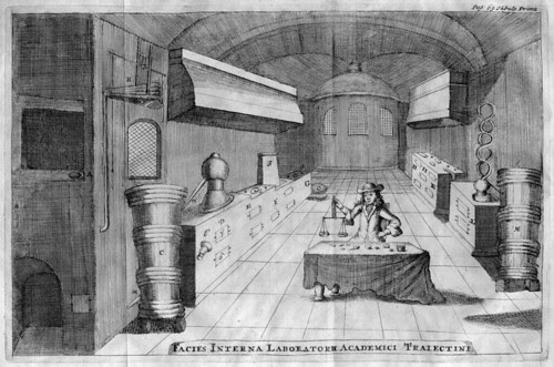 Facies Interna Laboratorium Academici Traiectini 1698