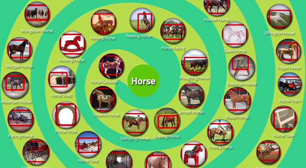 LEVAN shows what it knows about horses