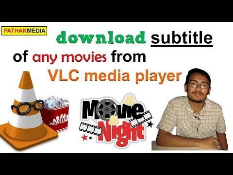 download subtitle of any movies from VLC media player