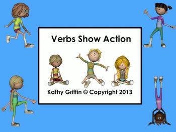 Common Core Verbs Show Action Mini Video Fun