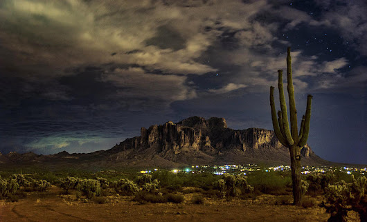 A Night In The Superstitions  by Saija Lehtonen