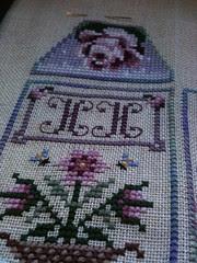 20 flowers  - initials