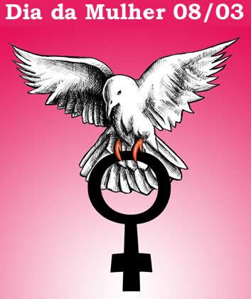 Dia da Mulher 8 de março, dia internacional da mulher