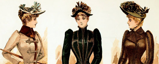 The Victorian lady's way to keep warm: See fashionable fall & winter clothing from 1891