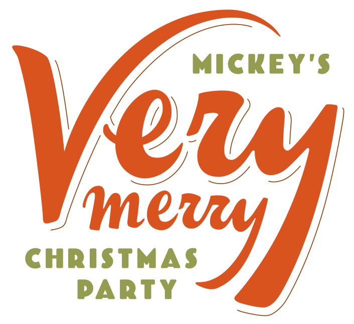 Image result for mickey's very merry christmas party logo