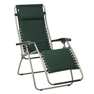 Lafuma Chair Lafuma Rsx Xl Padded Recliner England Green