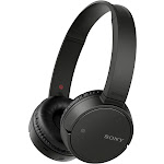 Sony WH-CH500 Bluetooth Wireless Over-Ear Headphones with Mic and NFC - Black
