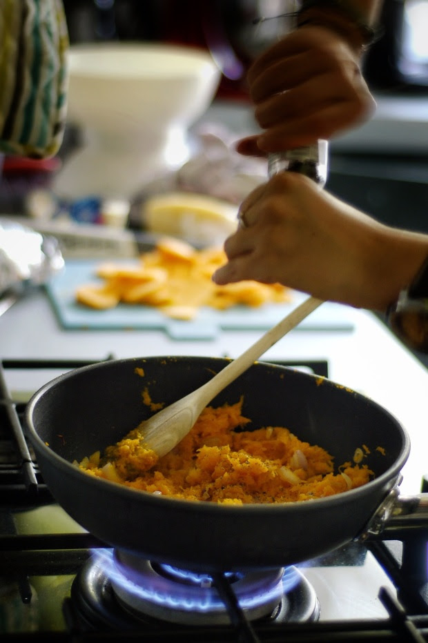 Condire e cuocere
