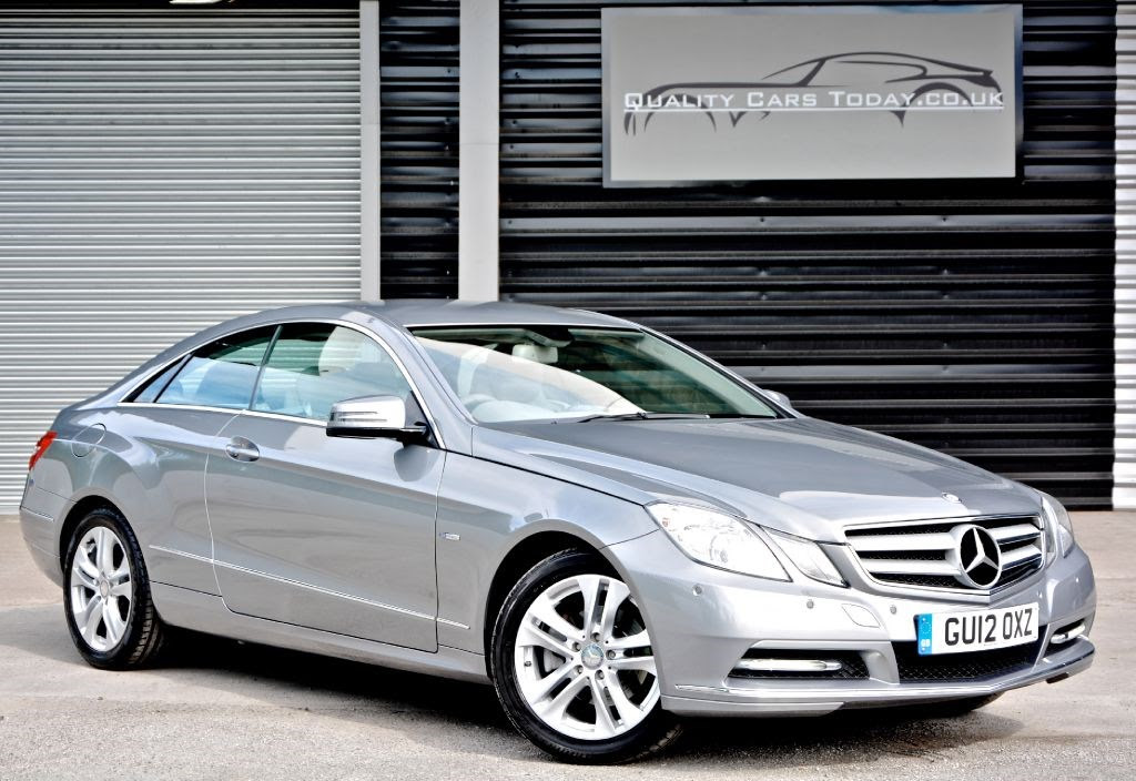 Mercedes-Benz E200 Coupe Automatic *1 Owner + MB Warranty ...