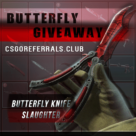 Giveaways | CSGO Giveaways to win skins for free | CS:GO Referrals Club