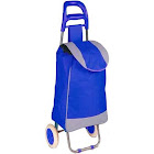 Alta Polyester Pull Behind Rolling Travel Hand Cart, 40-Pound Capacity