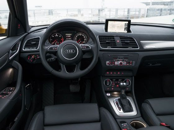 Facelifted 2015 Audi Q3 gets a navigation system, Bluetooth connectivity, reversing camera and lane/traffic sign assist
