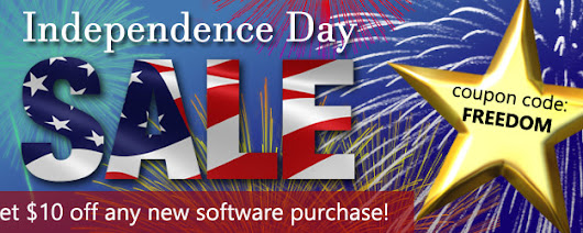Independence Day Sale! Save $10 Off Software – Smart Luck Lottery News Blog
