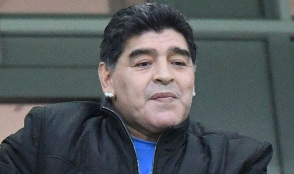 Good News! FIFA Punish Maradona For Doing This Disgusting Thing Against Nigeria