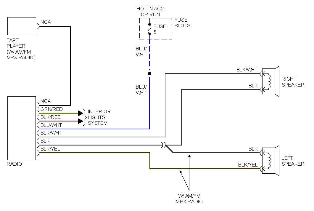 2001 Mitsubishi Mirage Stereo Wiring Diagram - Wiring Diagram