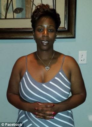 Chavonda Gallman, 40, called 911 after returning to her home in Spartanburg, South Carolina on Tuesday afternoon