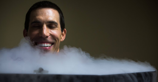 Athletes use cryotherapy to chill out