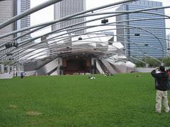 The Pritzker Pavilion