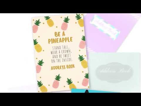 Elite Address Books - Be a Pineapple