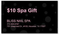 CPS-1023 - salon coupon card