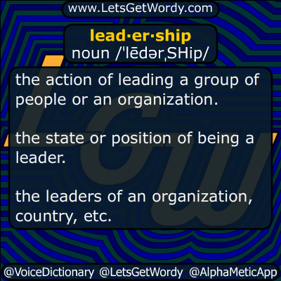 leadership 11/02/2016 GFX Definition