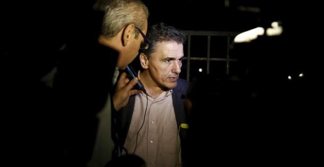 Una imagen reciente de Euclidis Tsakalotos, nuevo ministro de Finanzas de Grecia. / ALKIS KONSTATINIDIS (REUTERS)