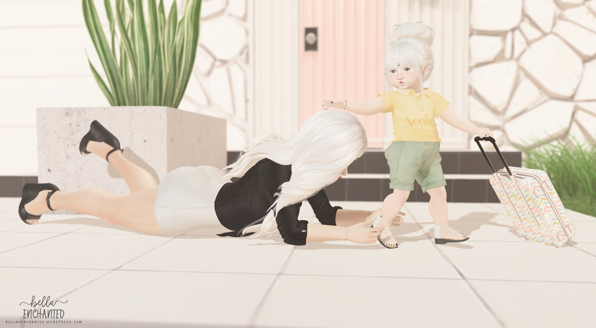 ʚ ⊱ Bella Enchanted ⊰ ɞ: Clingy Mama
