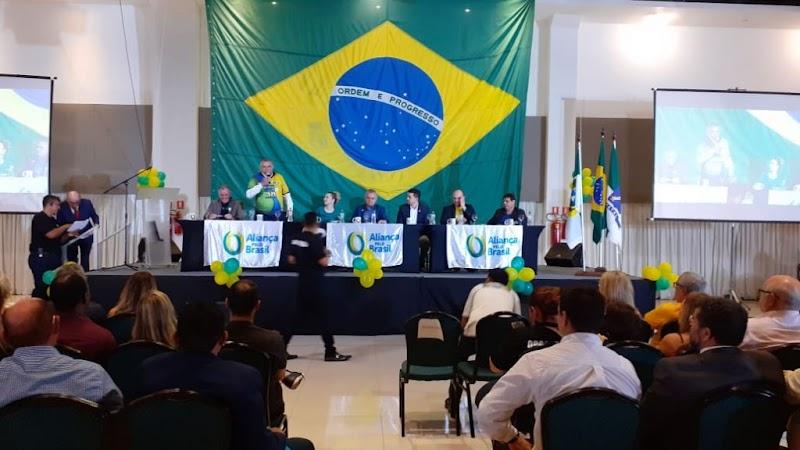 """FOTOS: Evento de divulgação do """"Aliança pelo Brasil"""", novo partido de Bolsonaro, reúne apoiadores em Natal"""