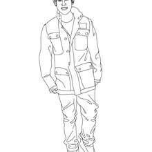 Dibujos De Justin Bieber Para Colorear Imprimir Y Pintar 15