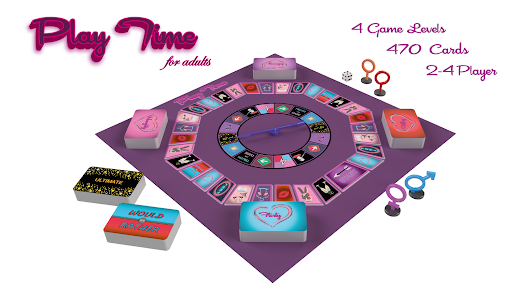 Erotic Adult Board Game and App - Play Time for adults