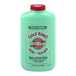 Gold Bond Baby Powder, Extra Strength, Triple Action Relief - 10 oz