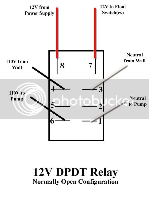 120 Volt Relay Switch