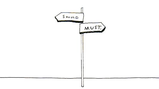 The Crossroads of Should and Must – elle luna – Medium