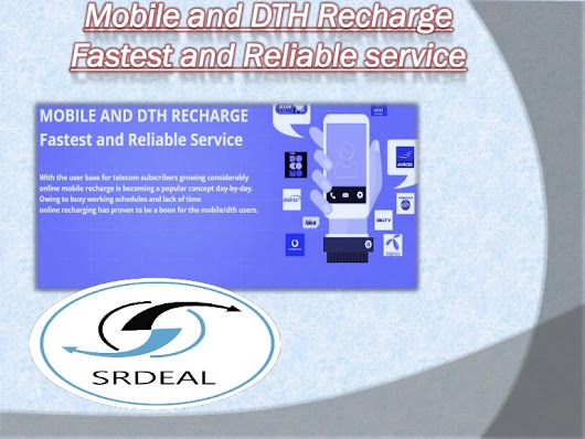 Mobile and dth recharge fastest and reliable service