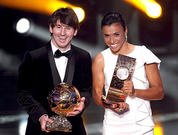 Bola de Ouro Messi Marta