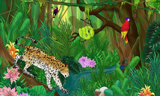 Can YOU find the Fairtrade coffee beans hidden in the jungle?