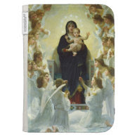 Mary, Baby Jesus, & Angels Kindle 3 Case
