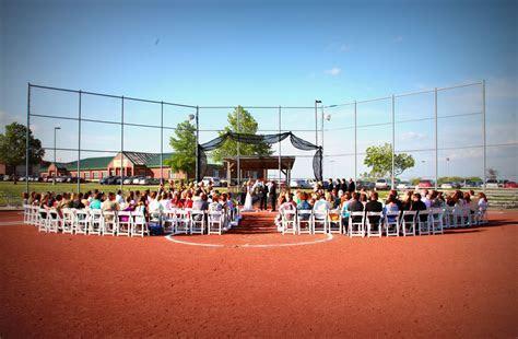 Our Love Story   Our Baseball Wedding Bliss   Softball